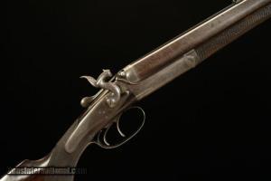 John Dickson Hammer Toplever Sidelock Double Rifle .500 BPE