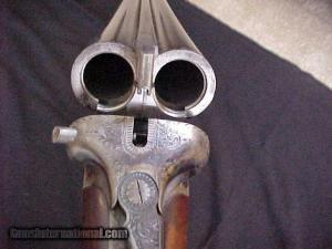 12 gauge John Harper Boxlock Double Barrel Shotgun