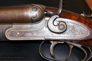 12 gauge - 38-55 Ballard Drilling, possibly made by Dangerfield-Lefever
