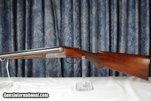 "FOX A GRADE Double Barrel Shotgun LATE STYLE ENGRAVING 12 GAUGE WITH EJECTORS AND 30"" BARRELS:"