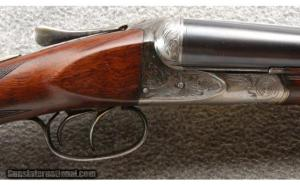 Ansley H. Fox A Grade Double Barrel Shotgun 12 Gauge With Ejectors