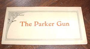 1923 The Parker Gun catalog, on Ebay now. Click for listing.