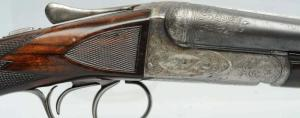 A.H. Fox CE Grade 20 GA Double Barrel Shotgun.