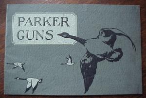 PARKER GUN ORIGINAL 1930 SALES CATALOG. click for listing