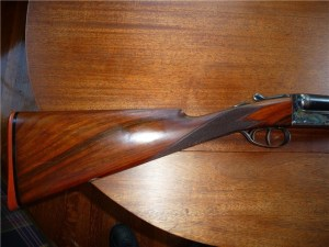 12 gauge Webley & Scott Model 700 double barrel shotgun on Gunbroker.com