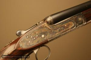 AyA, Aguirre Y Aranzabal Model No. 2 double barrel side-by-side shotgun