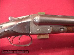"""E.C. Griffith's PARKER DH 12GA 30"""" Double Barrel Shotgun"""