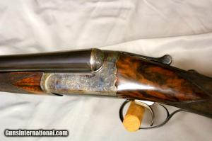Westley Richards Droplock 12ga Single Trigger 27""