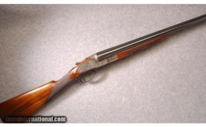 LC Smith Trap Grade 16 Gauge, Double Barrel Shotgun: