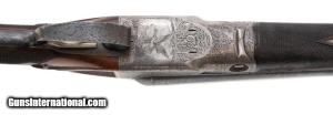 16 gauge Parker BHE Double Barrel Shotgun, Damascus Steel Bbls