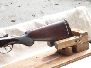 16 gauge A.H. Fox Sterlingworth Double Barrel, SxS Shotgun