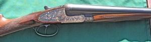 12 gauge Arrieta Double Barrel Sidelock Shotgun