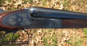 """BELGIUM GUILD GUN -20 GAUGE- SIDEPLATED BOXLOCK -EJECTORS - 26"""" BLS"""