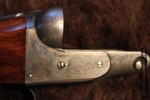 Parker DHE 10ga. Damascus SxS Double Barrel Shotgun
