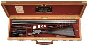 12 gauge James Purdey & Sons Double Barrel SxS Shotgun