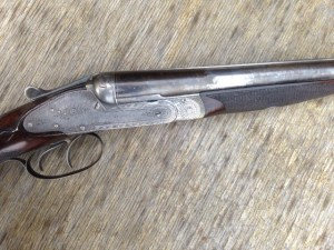 12 gauge Sneider Hammerless Double Barrel Shotgun