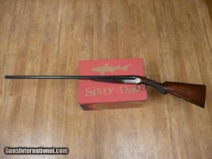 "Webley & Scott Model 700 16ga with 30"" barrels."