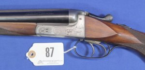 J.P. Sauer Double Barrel Shotgun 16 ga: