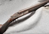 "L.C. Smith 3E 12 gauge Double Barrel Shotgun, 28"" Damascus Bbls"