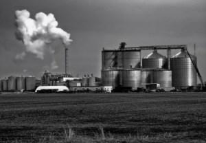 An ethanol plant