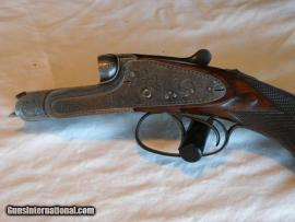 Alexander Henry & Co. Edinburgh. .300 Sherwood & .410 Sidelock Double Rifle & Shotgun