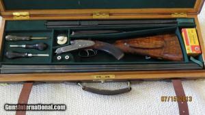 Alexander Henry & Co. Edinburgh. .300 Sherwood & .410 Sidelock Double Rifle & Shotgun