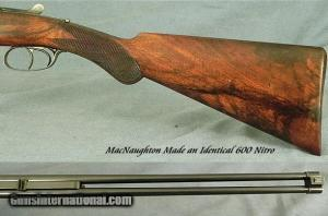 JAMES MacNAUGHTON 303 NITRO ROUND ACTION TRIGGERPLATE DOUBLE RIFLE