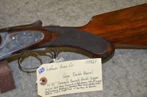 "Lot 125: Lefever Arms Co. 12ga. Double Barrel Shotgun w/30"" Damascus Barrels"