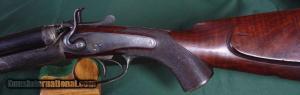 """Holland & Holland Top Lever 450 3 14"""" BPE Circa. 1886."""