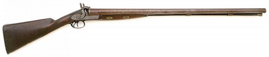 W & C Scott & Son 8 bore Percussion Double Shotgun