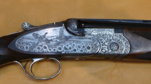 A super rare Beretta Sparviere OU shotgun with a super