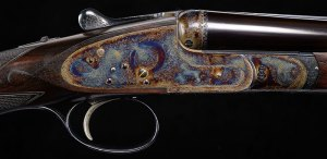28 gauge Boss SxS Double Barrel Shotgun
