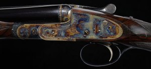 28 gauge Boss SxS Double Barrel Shotgun