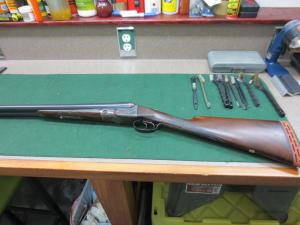 12 gauge Parker GHE Double Barrel Shotgun