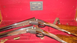 George Gibbs Sidelock Ejector Shotguns. Pic courtesy Graham Mackinlay
