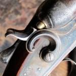 12 gauge W. & C. Scott double barrel shotgun, 1885, incredible condition