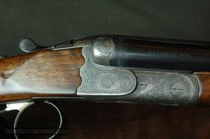 F W Kessler Side-by-Side 24 Gauge Shotgun
