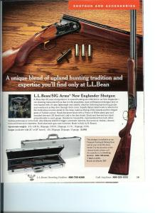 L.L. BEAN/SIGARMS New Englander Over-Under Shotgun