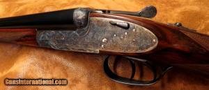 AYA #2 28ga Side-by-Side Shotgun. As new in factory box: