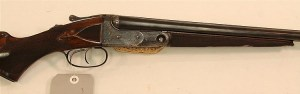 28g Parker Bros AHE Grade side by side double barrel shotgun