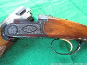 20 gauge Beretta BL-4 double barrel O/U shotgun