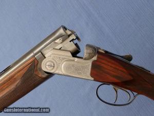 ": BERETTA - ASEL - 12ga 27-5/8"" - English Stock - Hand Engraved - Hand Built"