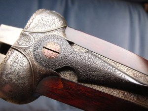 12 gauge Boss & Co. SxS shotgun, late 1920s