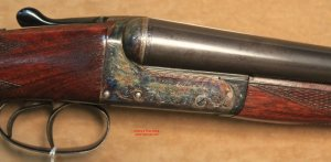 12 gauge Webley & Scott SxS Shotgun @ Cherry's Fine Guns