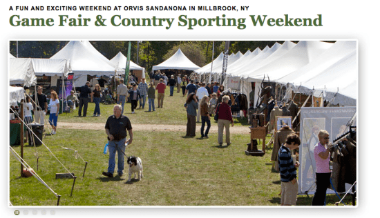 Orvis Gamefair and Country Sports Weekend