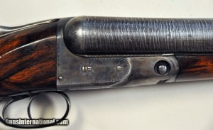 8 gauge Parker PH Side-by-Side shotgun
