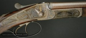 Alexander Henry Double Rifle, Edinburgh & London- .360 caliber:
