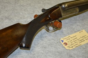 12g Francotte SxS Shotgun in Redding Auction Service's 12/14/14 sale