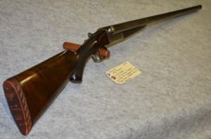 12g Francotte SxS Shotgun in Redding Auction Service's 12/14/14 sale
