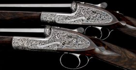 Pair of new Holland & Holland Royal side-by-side shotguns